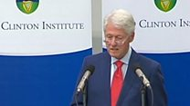 Clinton reflects on Good Friday Agreement