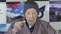 Meet the world's oldest man at 112