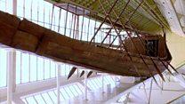 Restoring a pharaoh's ancient boat