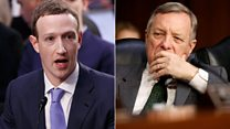 Zuckerberg asked: 'Where did you stay last night?'