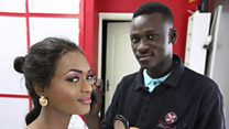 Being a male make-up artist in Senegal