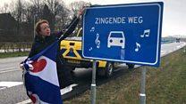 Dutch singing road closed