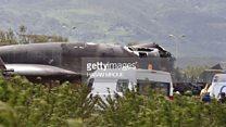 تحطم طائرة نقل عسكرية على متنها أكثر من 200 جندي في الجزائر