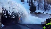 When you're too close to an avalanche