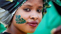 Thousands commemorate Winnie Mandela