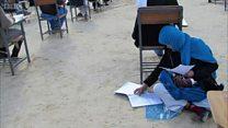 Susui bayi saat ujian, wanita Afganistan dapat beasiswa