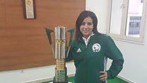 أول مصرية حكماً لكرة القدم الرجالية