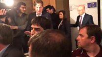 ATƏT-in DTİHB beynəlxalq müşahidəçilərinin mətbuat konfransında qalmaqal baş verib