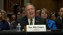 Mike Pompeo: War should be last resort