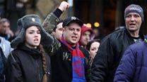 """""""Нам советовали не ехать в Россию"""": футбольные болельщики о спорте и политике"""
