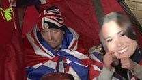 Royal baby watch: Fans set up camp