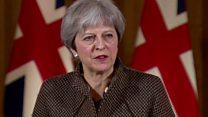 'No alternative' to Syria strikes - May