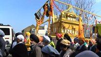Thousands gather for Sikh celebration