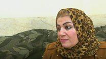 المرأة التي تحاول انقاذ أطفال تنظيم الدولة الاسلامية