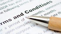 ما معنى عبارة terms and conditions؟