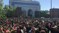 Armenian protests continue against PM