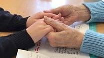 Age no barrier for young and old pen pals