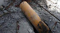 Un equipo de periodistas accede a Duma, donde supuestamente se usaron armas químicas