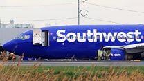 El accidente en un avión de Southwest en Filadelfia que dejó una pasajera muerta