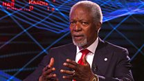 Annan: World lacking 'strong leaders'