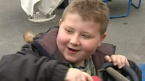 Brain tumour little boy's new lease of life
