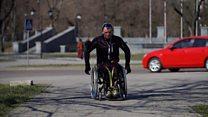 Місто очима візочника: прогулянка з паралімпійським чемпіоном