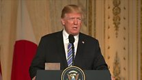 Trump's warning about North Korea meeting