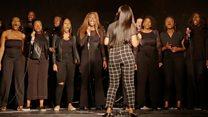 Gospel choir 'has become like a family'