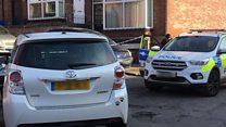 Bransby Street police cordon