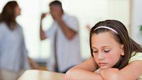 تأثيرات الشجار بين الوالدين على الأطفال