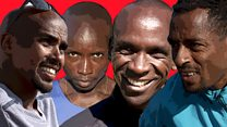 Who will win the men's London Marathon?