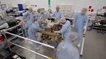 Timelapse of ExoMars rover assembly