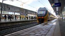 Nhà ga tại Hà Lan lo cho người khiếm thị thế nào?