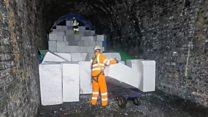 Polystyrene engineering makes tunnel safe