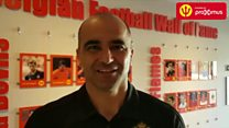 Martinez shout out to young NI footie fan