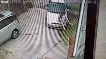'Angry' Army veteran drove at neighbour