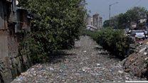 ممبی کې پر پلاستيکو بنديز