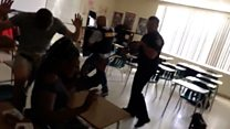 US police clear classroom after shooting