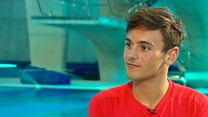 Tom Daley 'so, so excited' about new baby