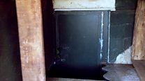 Inside a back garden nuclear bunker