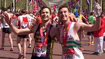 Memorable marathon duo reunited in London