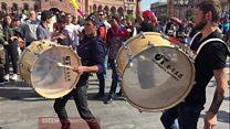 Yerevanda etirazçılar Sarkisyanın istefa xəbərini bayram edib