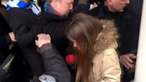 Why a BBC reporter was kicked in the groin