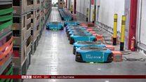 တရုတ်လုပ်ငန်းခွင်မှာ စက်ရုပ်တွေပိုသုံးလာ