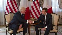 Visite d'Emmanuel Macron aux Etats-Unis