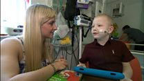 Boy recovers from five-organ transplant