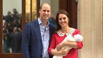 Кейт і Вільям показали новонародженого принца