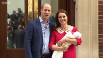Pangeran William dan Kate Middleton perkenalkan putra ke-tiga
