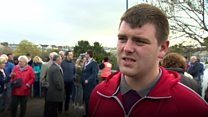 Vigil organised to show victim support