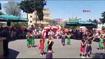 Mersin'de 23 Nisan gösterisi yarıda kesildi